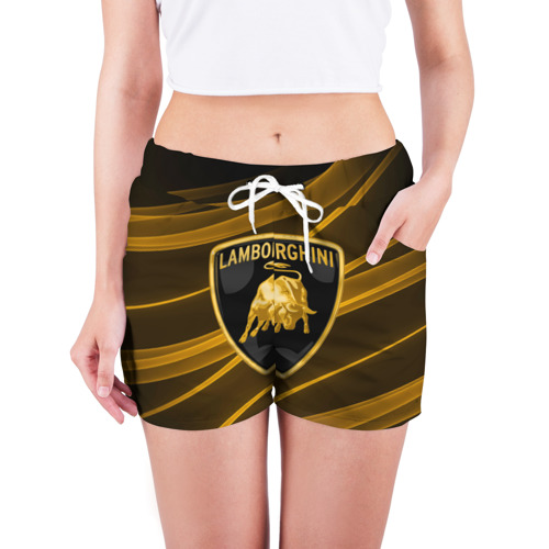 Женские шорты 3D  Фото 03, Ламборгини