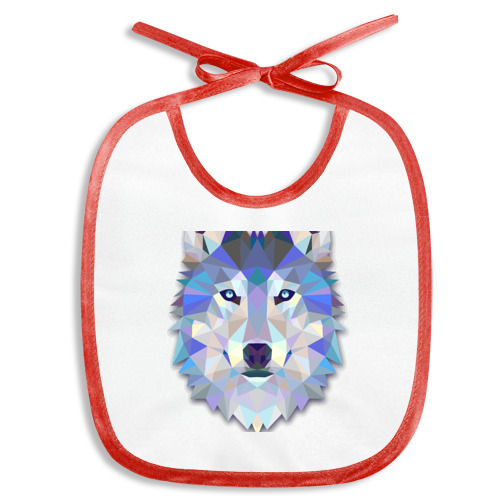 Полигональный волк