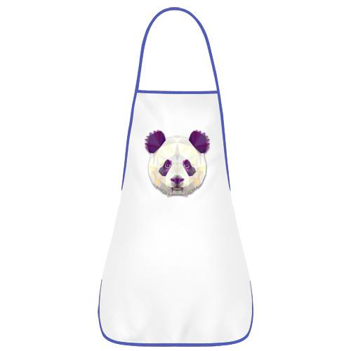 Фартук с кантом  Фото 02, Полигональная панда