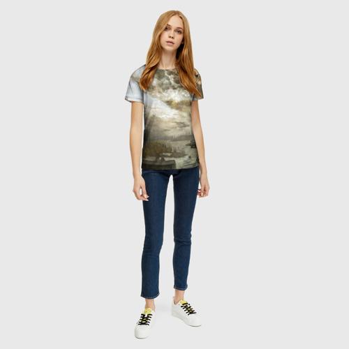 Женская футболка 3D Сталкер Фото 01