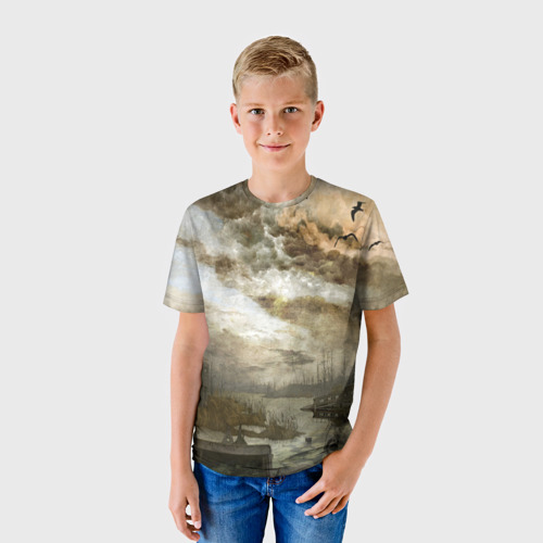 Детская футболка 3D Сталкер