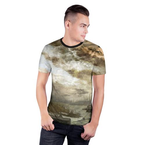 Мужская футболка 3D спортивная Сталкер Фото 01