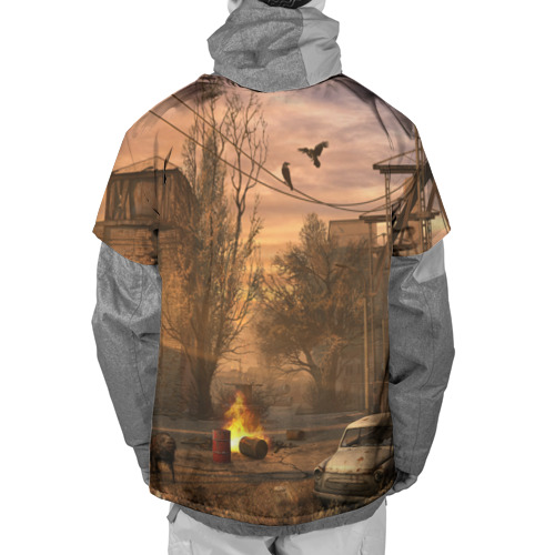 Накидка на куртку 3D  Фото 02, Stalker