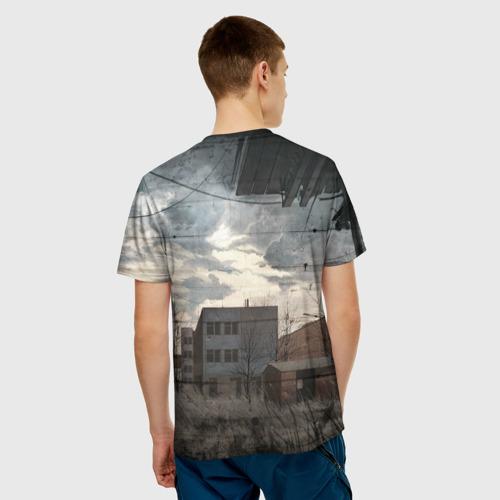 Мужская футболка 3D  Фото 02, Сталкер