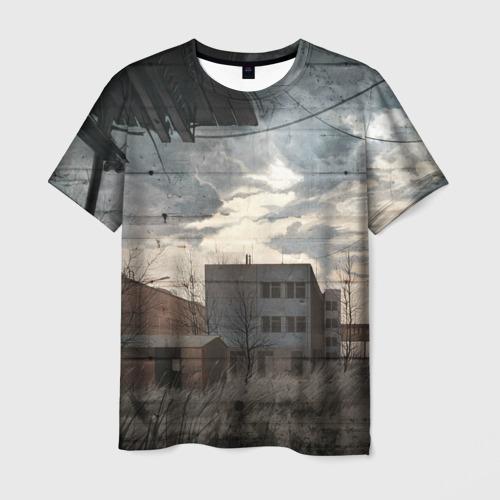 Мужская футболка 3D  Фото 03, Сталкер