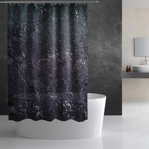Штора 3D для ванной  Фото 03, Грандж