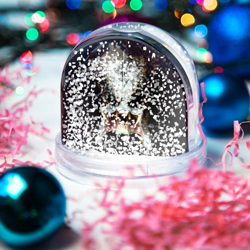 Водяной шар со снегом  Фото 04, Хищник