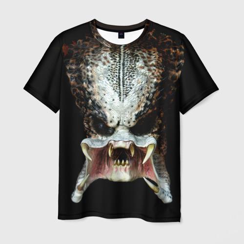 Мужская футболка 3D Хищник Фото 01