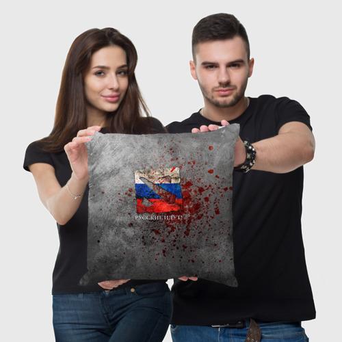 Подушка 3D  Фото 05, Русские идут!