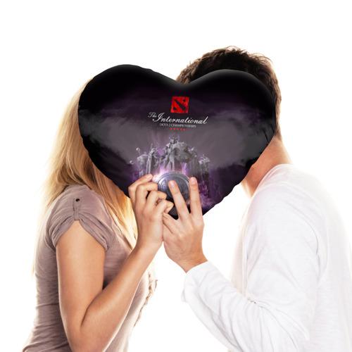 Подушка 3D сердце DotA2 International Фото 01