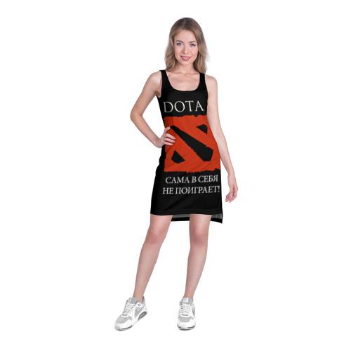 Платье-майка 3D  Фото 03, DOTA 2 сама в себя не поиграет!