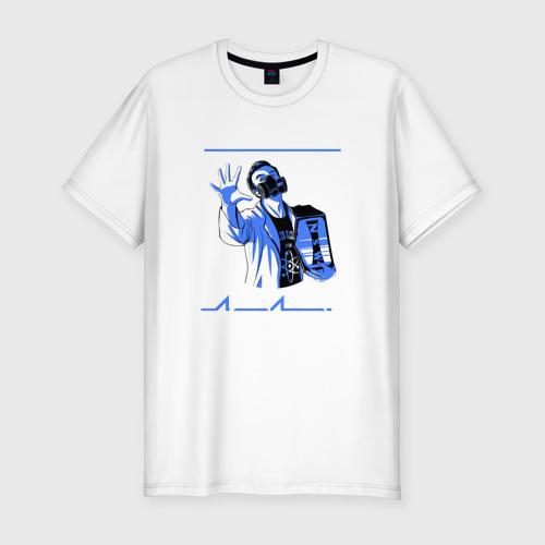 Мужская футболка премиум  Фото 01, Проект Экс 'Чемпион' [2016]