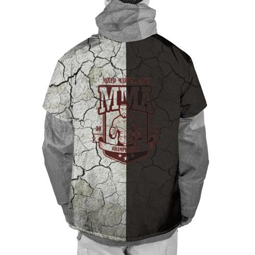 Накидка на куртку 3D  Фото 02, MMA