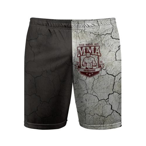 Мужские шорты 3D спортивные  Фото 01, MMA