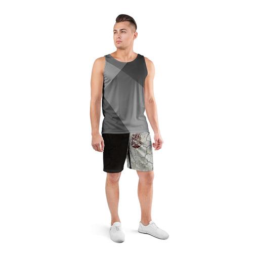 Мужские шорты 3D спортивные  Фото 04, MMA