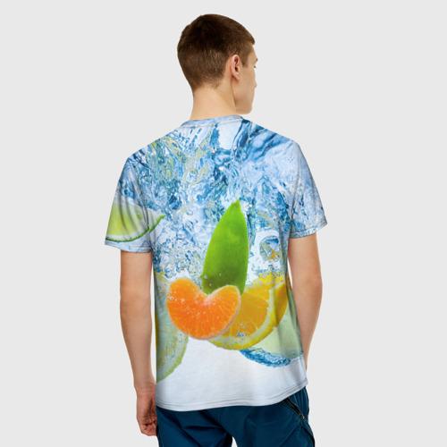 Мужская футболка 3D  Фото 02, ФРУКТЫ