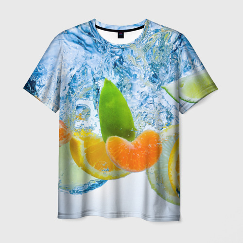 Мужская футболка 3D  Фото 01, ФРУКТЫ