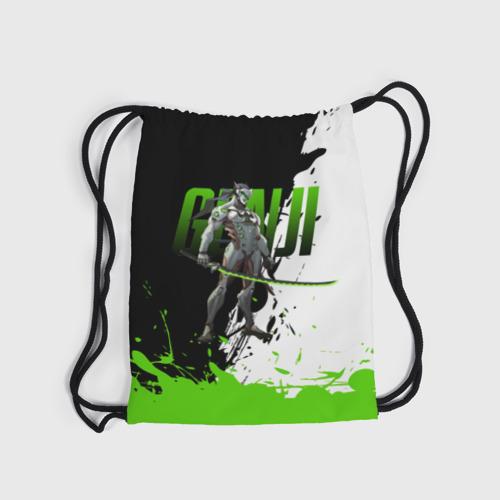 Рюкзак-мешок 3D Overwatch Genji Фото 01