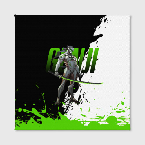 Холст квадратный Overwatch Genji Фото 01
