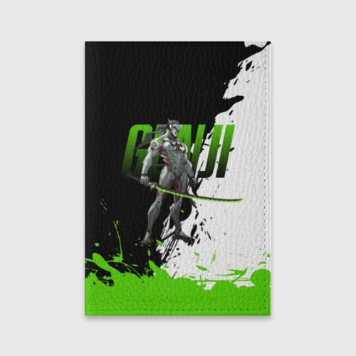 Обложка для паспорта матовая кожа Overwatch Genji Фото 01
