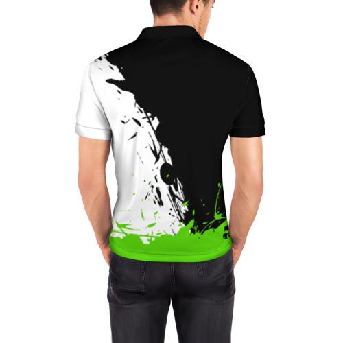 Мужская рубашка поло 3D Overwatch Genji Фото 01