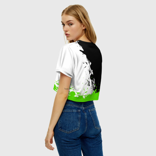 Женская футболка Cropp-top Overwatch Genji Фото 01