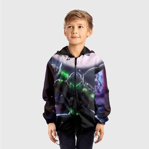 Детская ветровка 3D Overwatch Genji Фото 01