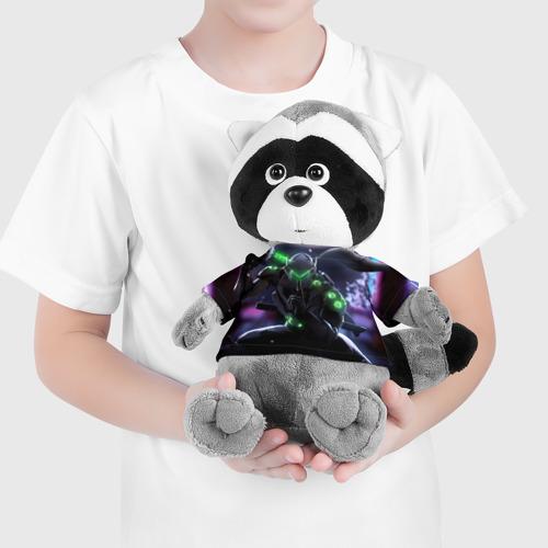 Енотик в футболке 3D Overwatch Genji Фото 01