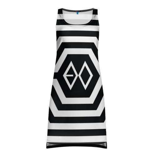 Платье-майка 3D Exo