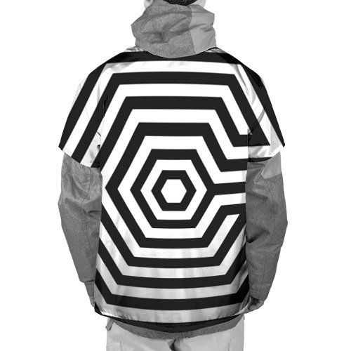 Накидка на куртку 3D  Фото 02, Exo