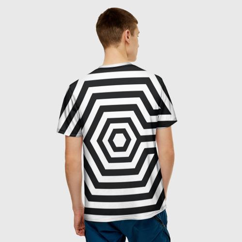 Мужская футболка 3D  Фото 02, Exo