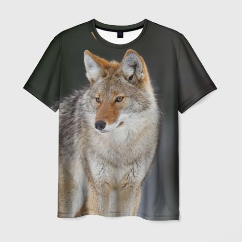 Мужская футболка 3D  Фото 03, Волк