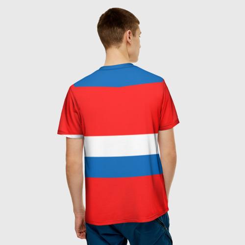Мужская футболка 3D  Фото 02, Сборная России Домашняя форма
