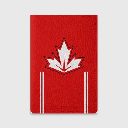 Обложка для паспорта матовая кожа  Фото 01, Сборная Канады по хоккею 2016