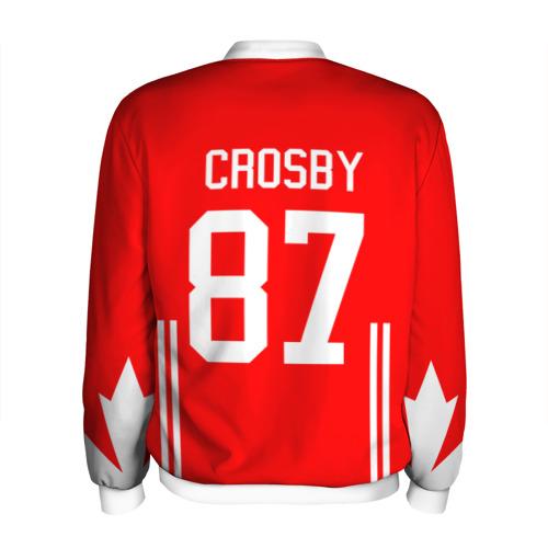 Мужской бомбер 3D  Фото 02, Канада Хоккей Кросби