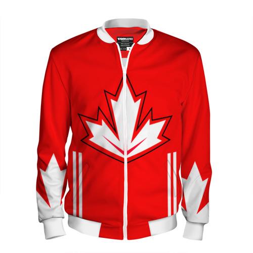 Мужской бомбер 3D  Фото 01, Канада Хоккей Кросби