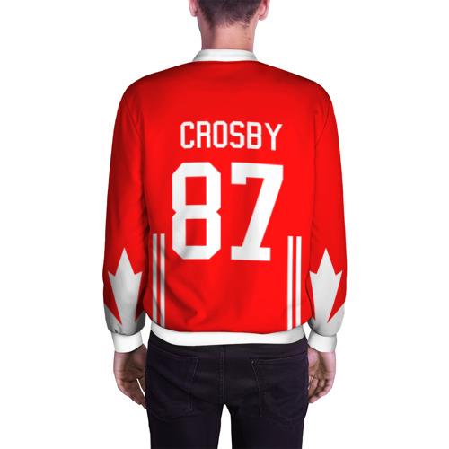 Мужской бомбер 3D  Фото 04, Канада Хоккей Кросби