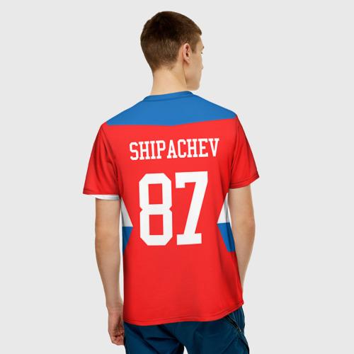 Мужская футболка 3D  Фото 02, Форма № 87 SHIPACHEV
