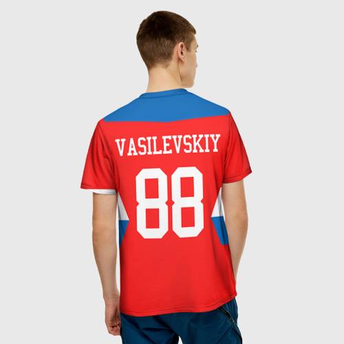 Мужская футболка 3D  Фото 02, Форма № 88 VASILEVSKIY