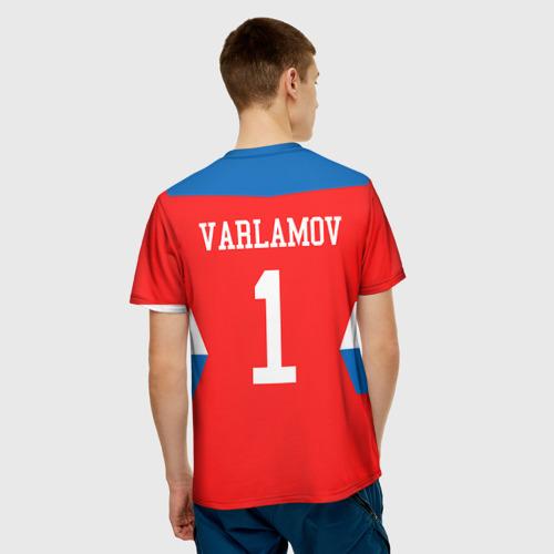 Мужская футболка 3D  Фото 02, Форма №1 VARLAMOV
