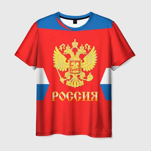 Мужская футболка 3D  Фото 01, Форма №1 VARLAMOV