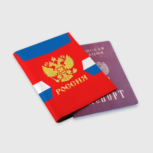 Обложка для паспорта матовая кожа  Фото 03, Форма № 72 BOBROVSKY