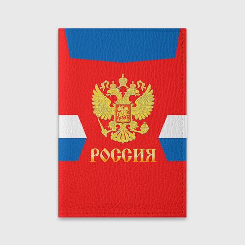 Обложка для паспорта матовая кожа  Фото 01, Форма № 72 BOBROVSKY