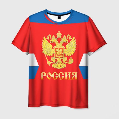 Мужская футболка 3D  Фото 01, Форма № 72 BOBROVSKY
