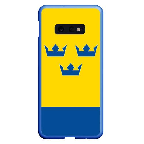 Чехол для Samsung S10E Сборная Швеции по Хоккею Фото 01