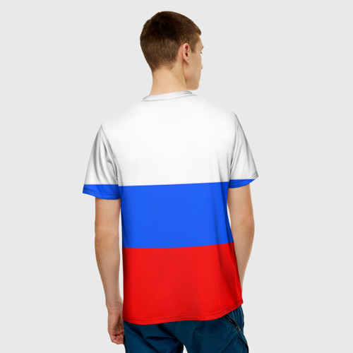 Мужская футболка 3D  Фото 02, Триколор
