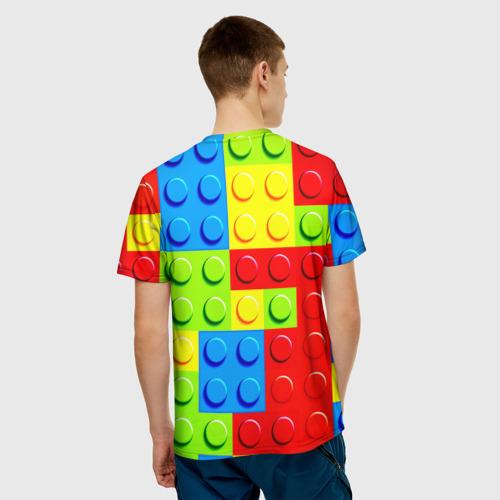 Мужская футболка 3D  Фото 02, Конструктор