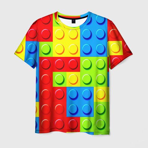 Мужская футболка 3D  Фото 01, Конструктор