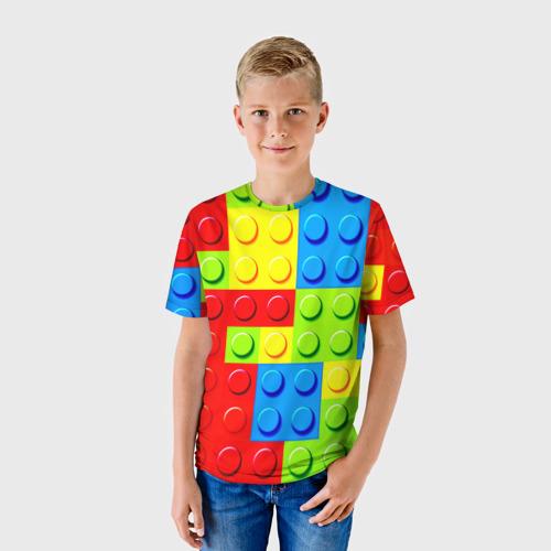 Детская футболка 3D Конструктор