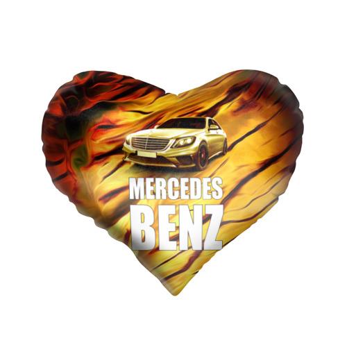 Подушка 3D сердце  Фото 01, Mercedes Benz